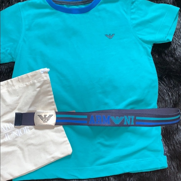 185d4be26 Armani Junior Shirts & Tops | Poshmark